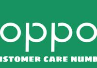 Oppo Customer care Number